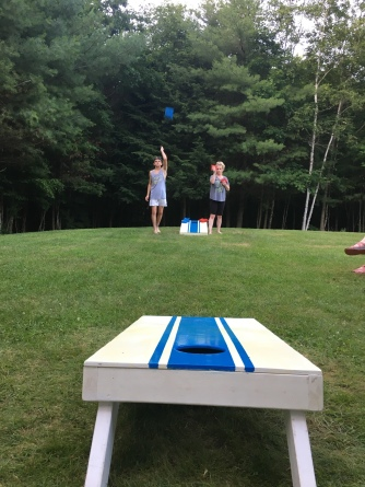 Cornhole and Roger's.